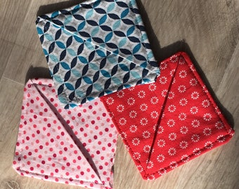 Fabric bookmark set