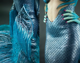 High fashion Silicone mermaid tail