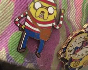Jake Waldo hat pin