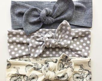 Best Basics - Top Knots Baby Headbands