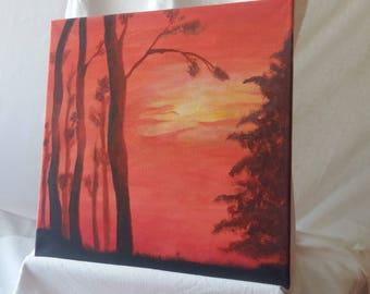 Acrylic Original Pantning on canvas