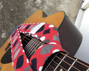 Limited Edition beauty Guitar or Banjo Strap by Martha Crow