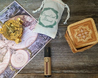 SANDALWOOD AURA Perfume Oil - Natural Perfume - 10ml Perfume Roll On - Natural Fragrance - Travel Perfume - Vegan Perfume - Gift for Mom