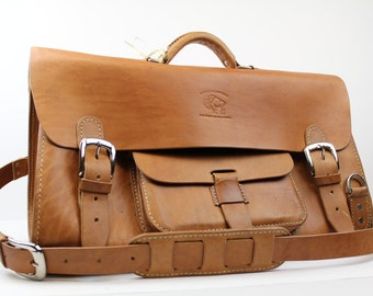 """Leather Gym Bag Leather Duffel Bag - Carry On Bag Leather Overnight Bag Weekend Bag 19"""" 310"""