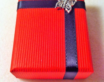 Red and black gift box