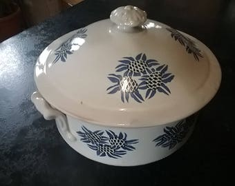 Vintage French tureen printed