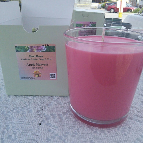 Apple Harvest Soy Candle in a 9 oz. Tumbler Jar
