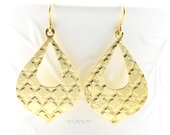 Gold Moroccan Earrings