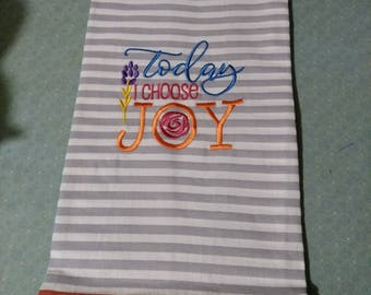 I Choose Joy Towel