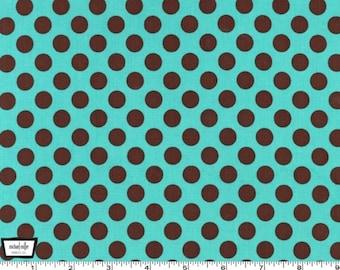 Ta Dot - Azure Cotton Print Fabric from Michael Miller