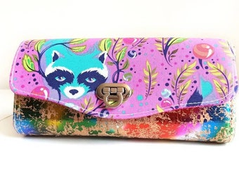 Ready to ship: Necessary Clutch wallet, NCW, large NCW, Clutch Wallet, Clutch Wallet, Wallet, Ladies Wallet, Accordion Wallet, Tula Pink