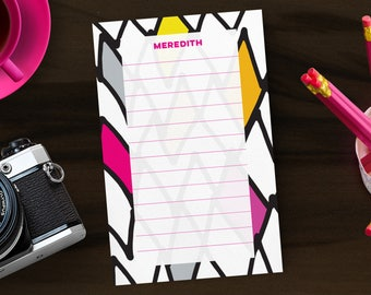 Custom Notepad | Personalized Gift | Gift for Mom | Desk Accessories