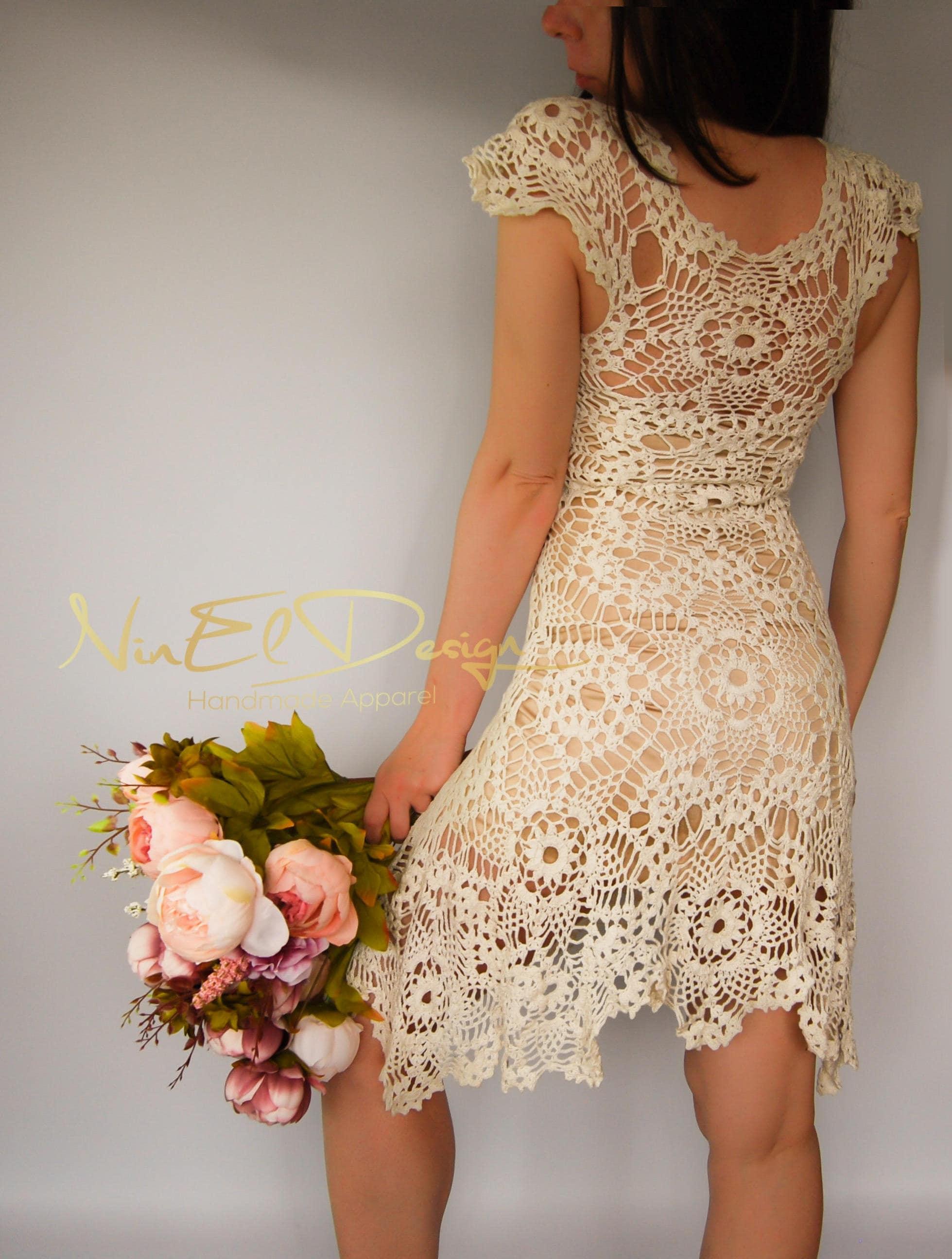 Großzügig Irish Häkeln Hochzeitskleid Fotos - Brautkleider Ideen ...