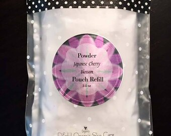 Organic Talc Free Deodorant Body Powder Refill Pouches