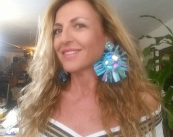 Earrings Chandelier Vintage