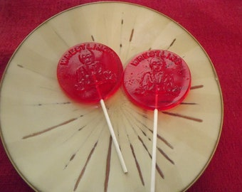 16 Wrestling Wrestler Lollipops Suckers Party Favor