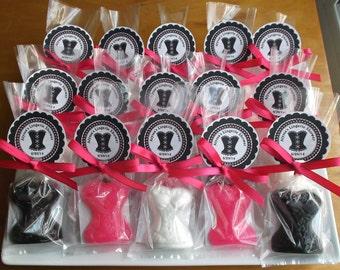 Bachelorette Party Favors - Bachelorette Party, Lingerie Party Favors, Bridal Shower Favors, Corset Soap Favors - Set of 10