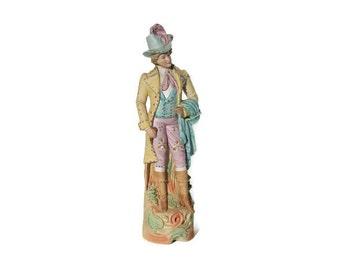 Vintage   Bisque figure, country gentleman,porcelain figurine