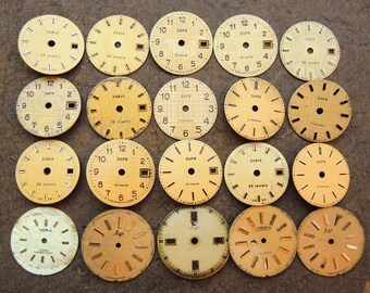 Small Watch Faces - set of 20 - c158