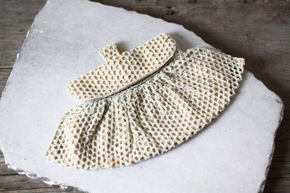 1920s champagne beaded clutch  // bridesmaid clutch // vintage purse