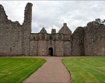 Poster, Many Sizes Available; Front Entrance Of Tolquhon Castle