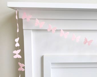 Mini Felt Butterfly Garland, Bunting, Banner