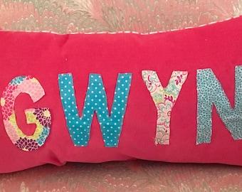 Name Pillow Custom Made