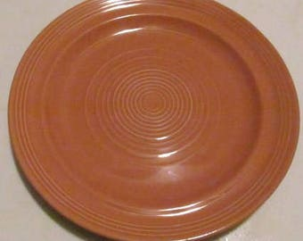 Concentrix Cinnabar by Lynn's China Stoneware Large Dinner Plate Looks Like Homer Laughlin