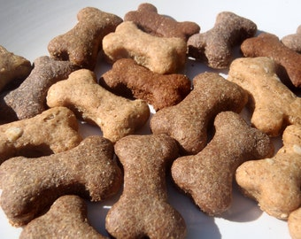 Dog Treats - Training Treats - Assorted Mini Bones All Natural Organic Dog Treats Vegetarian -  Shorty's Gourmet Treats