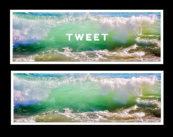Twitter Header with original photography
