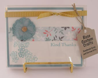 Assorted Thank You Cards (Set of 5)