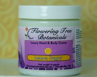 Lemon Sugar Luxury Body Creme - 4 ounces