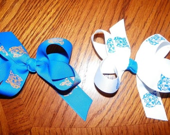 Small wildcat hair bow