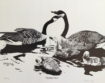 Canadian Geese (Quality Time)