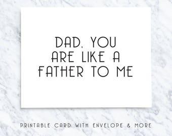 digital dad card, happy fathers day, digital fathers card, card for dad, digital dad day, digital download, funny dad card