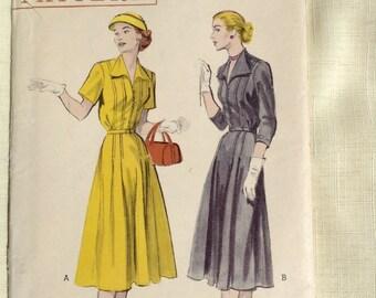 Vintage Butterick 6073 Dress Pattern