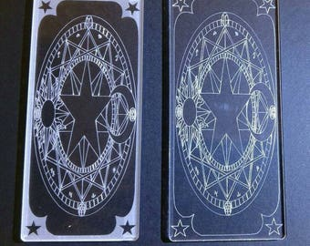 Cardcaptor Sakura inspired Clear Card - Clow Magic Circle