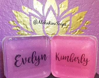 Custom Name Soap Bars