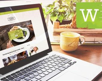 WordPress Theme - WordPress Blog Theme - WordPress Template - Blog Template - Blogs Template - Clean And Food WordPress Blog Theme