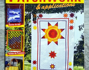 Magazine Elena patchwork & 22 applications