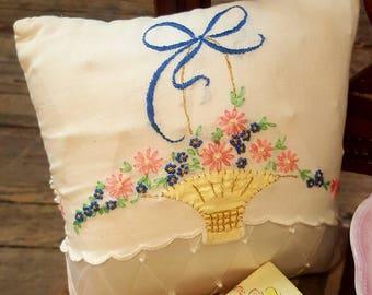 Wedding Pillow handmade
