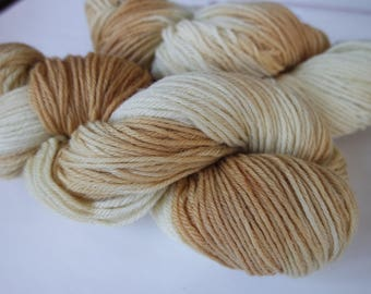 Goldielight Naturally Dyed Worsted Weight Superwash Wool Yarn