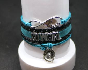 Rodeo Cowgirl Infinity Bracelet