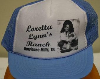 Vintage Loretta Lynn Trucker Hat Cap