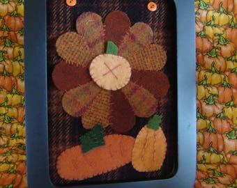Sale, Pretty Pumpkins Kit and Pattern