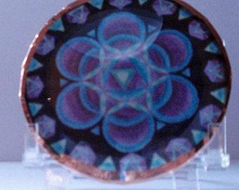 Seed of Love Mandala Disc