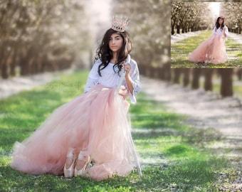 Photoshop tutorial Ballerina Princess