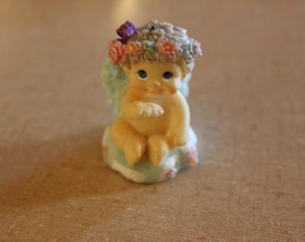 Figurine, Vintage Figurine, Miniature Baby Figurine