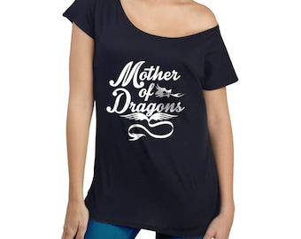 GOT t shirt kimono for women Game of Thrones inspired Mother of Dragons cool typography t shirt kimono sensual and sexy loose fit typography