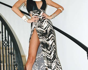 Black Mermaid Evening Gown/ Black Lace Gown/ Dresses for Women/ Formal Evening Dress/ Ball Gown Prom Party Pageant/ Latex Evening Dress